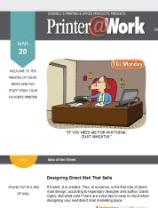 Printer@Work... News from your friends at Donnell's